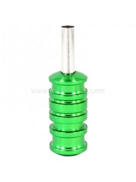 Couleur Aluminum Tatouer Handle Vert 5PCS