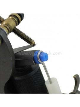 en forme de T Bleu Doux Silicone Tatouer Pin Coussin 100PCS