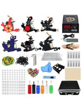Kit Machine a Tatouer Six Machines