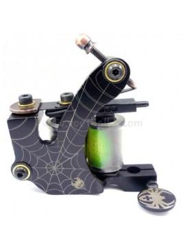 Machine a Tatouer N101 10 Couche Bobine Le Fer Shader Araignée