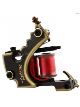 Machine a Tatouer N103 10 Couche Bobine Bronze Liner Caractères