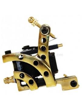 Machine a Tatouer N103 10 Couche Bobine Bronze Shader Arc