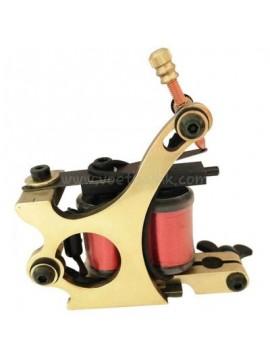 Machine a Tatouer N103 10 Couche Bobine Bronze Shader Hache