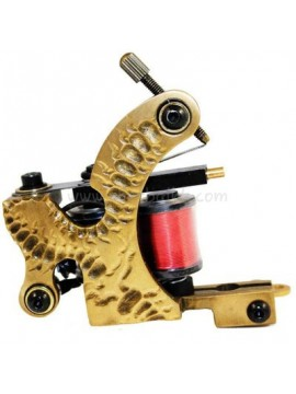 Machine a Tatouer N103 10 Couche Bobine Bronze Shader Marque