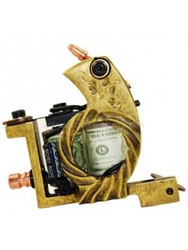 Machine a Tatouer N103 10 Couche Bobine Bronze Shader Cycle