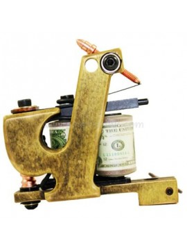 Machine a Tatouer N103 10 Couche Bobine Bronze Shader Liste