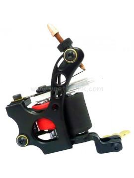 Machine a Tatouer N110 10 Couche Bobine Couleur Aluminum Shader Noir