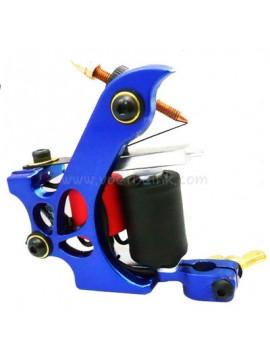 Machine a Tatouer N110 10 Couche Bobine Couleur Aluminum Shader Laissez tomber Bleu