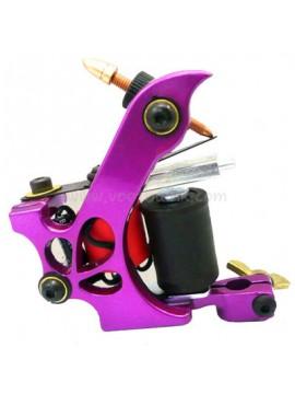 Machine a Tatouer N110 10 Couche Bobine Couleur Aluminum Shader Laissez tomber Violet
