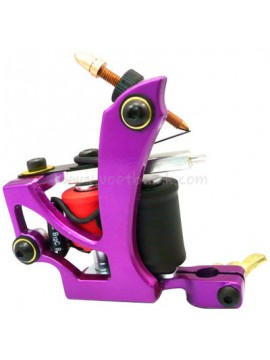 Machine a Tatouer N110 10 Couche Bobine Couleur Aluminum Shader En volant Violet