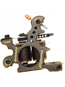 Machine Tatouer N120 10 Couche Bobine Bronze Shader 1080