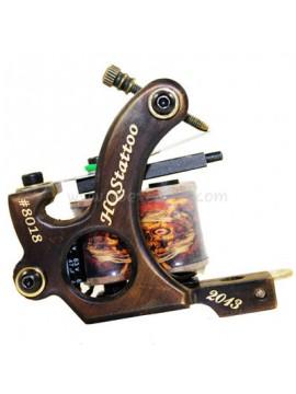 Machine a Tatouer N130 10 Couche Bobine Bronze Shader Nombre 8018