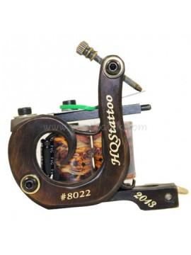 Machine a Tatouer N130 10 Couche Bobine Bronze Shader Nombre 8022