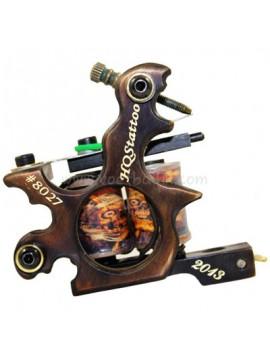 Machine a Tatouer N130 10 Couche Bobine Bronze Shader Nombre 8027
