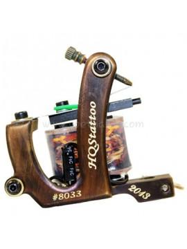 Machine a Tatouer N130 10 Couche Bobine Bronze Shader Nombre 8033