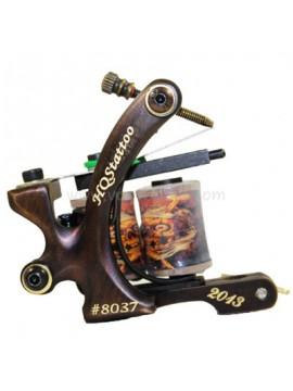 Machine a Tatouer N130 10 Couche Bobine Bronze Shader Nombre 8037