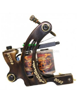 Machine a Tatouer N130 10 Couche Bobine Bronze Shader Nombre 8038