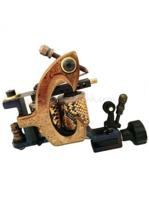 Machine a Tatouer N140 10 Couche Bobine Bronze Shader Claw