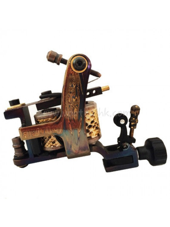 Machine a Tatouer N140 10 Couche Bobine Bronze Shader Ink